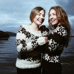 Gudrun & Gudrun Faeroese sweaters!
