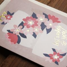 Wedding Cake Best Wishes Card by 1canoe2 on Etsy