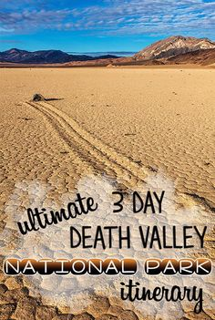 Sand dunes, craters, slot canyons & wildflowers. Experience the best attractions in Death Valley with this 3-day Death Valley National Park itinerary.