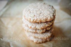 30-minute cookies (oat-coconut cookies)
