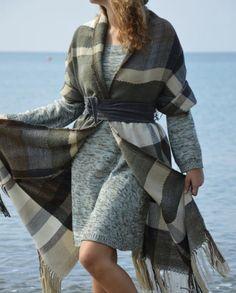 Plaid Scarf, Winter, Fashion, Winter Time, Moda, Fashion Styles, Fashion Illustrations, Winter Fashion