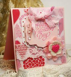 Beautiful layered Valentine