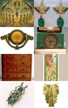 Art Deco Dreams/ The Great Gatsby Style by Fay   Jones Day on Etsy--Pinned with TreasuryPin.com