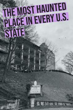 The Most Haunted Place in Every U. State Whether you believe in spirits from beyond or not, the stories of America's most haunted places are sure to give you goosebumps. Oh The Places You'll Go, Places To Travel, Travel Destinations, Places To Visit, Most Haunted Places, Spooky Places, Life Hacks, Adventure Is Out There, Abandoned Places