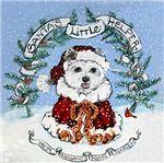 Santa West Highland White Terrier