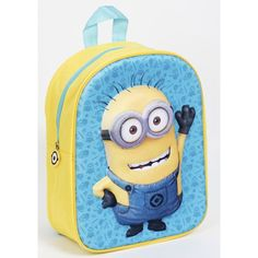 Minions 3D Rugzak - Tom (8225) #minions #3drugzak #kinderrugzak #kinderrugtas Spiderman, Batman, Minions, 3 D, Mickey Mouse, Toms, Disney, Fictional Characters, Products