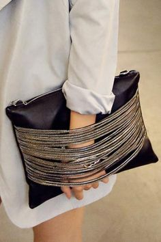 chained messenger #bag