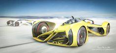 Chaparral Racing Vision, Antonis Karidis on ArtStation at… Futuristic Cars, Futuristic Vehicles, Street Performance, Lamborghini Cars, Car Sketch, Transportation Design, Future Car, Concept Cars, Dibujo