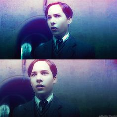 """""""The other teachers, they're not like you. They may misunderstand."""" This really was the best Tom Riddle."""