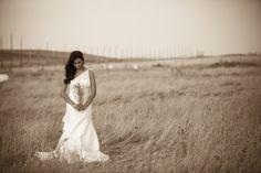 Rustic Bridal Portrait by Sofia Katherine Photography