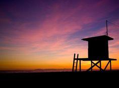 Sunset on the beach - Newport Coast