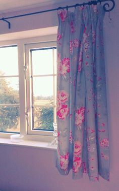 Curtains with Cath Kidston fabric
