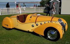 1938 Peugeot 402 Darl'mat Roadster - yellow - svr