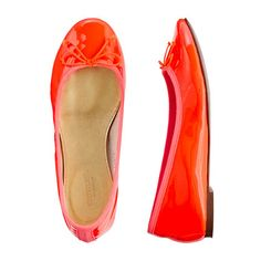 Why do these not come in my size?  Girls' classic patent ballet flats