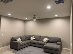 Led Recessed Lighting, Pot Lights, Light Installation, Vanity Lighting, Home Improvement, Couch, Furniture, Home Decor, Settee