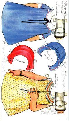 Paper Dolls~Gloria and Sonny - Nena bonecas de papel - Picasa Albums Web