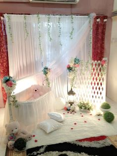 Struggling for decor for cradle ceremony? has remarkable naming ceremony ideas 9987874663 amazing set for your celebration. Baby Shower Advice, Baby Shower Themes, Baby Shower Decorations, Naming Ceremony Decoration, Wedding Hall Decorations, Baby Craddle, Cradle Decoration, Cradle Ceremony, Baby Shower Images