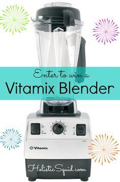 Vitamix Giveaway at Holistic Squid