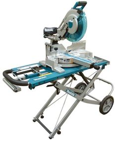 Makita LS1216LX 12-Inch Dual Slide Compound Miter Saw with Laser and Stand - The Makita LS1216LX combines the LS1216L 12-inch dual slide miter saw and the largest crosscutting and crown cutting capacity in its class with the convenience and mobility