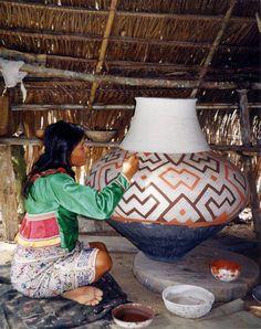 Yahuasco con diseño