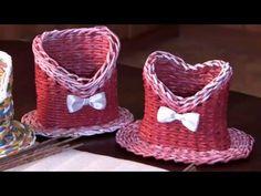 Botellero de papel en forma de sombrero