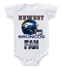 NEW Football Baby Onesie Creeper NFL Denver Broncos #BabyShowerIdeas #Baby #BabyShowerGift #BabyShowerGifts #babyshowercake #ItsABoy #ItsAGirl #Cake #Party #BabyShowerFavors #Shower #Gift #Pregnant #Dadchelor #Pregnancy #BabyGifts #BabyShowerGames #GiftIdeas #Etsy #Gifts