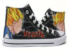 Zapatillas Goku & Vegeta  by www.pimpamcreations.com