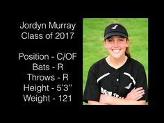Jordyn Murray Softball Catcher and Outfielder Recruiting Video - Class of 2017…