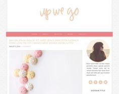Responsive Blog WordPress Genesis Theme Pink and Orange Up We Go