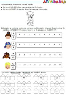 ATIVIDADES PARA EDUCADORES: 2º Ano - Atividades matemáticas: Esquerda e direit...
