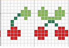 Ravelry: Cherries chart pattern by Lea Bronnenkant