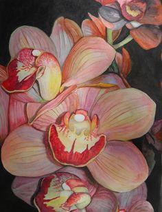 Orchids Painting  - Orchids Fine Art Print