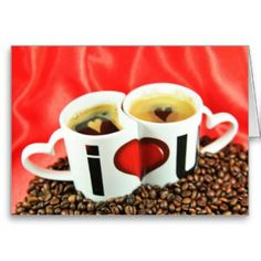 Cards to use when giving coffee as a gift to a java lover on Valentine's Day. Valentine's cards with coffee-related quotes or with cups of joe in the design. I Love Coffee, Coffee Art, Coffee Break, My Coffee, Coffee Drinks, Coffee Time, Coffee Cups, Coffee Humor, Coffee Quotes