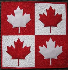 Hearts Breaking for Canada (Quiltville's Quips & Snips! Quilting Projects, Quilting Designs, Quilting Ideas, Art Projects, Canadian Quilts, Canadian Flags, Quilts Canada, Canada Day Crafts, Canada Maple Leaf