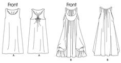 McCall's Misses' Dresses in 2 lengths