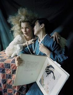Kate Moss by Tim Walker for Vogue Italia September 2015 | The Fashionography