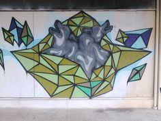 Houston street art. Sick!