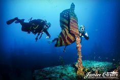 Diving the wrecks in the Florida keys and having a blast!  @scubadivergirls @sdg_stephanie @sdg_margo by scubachickphotography