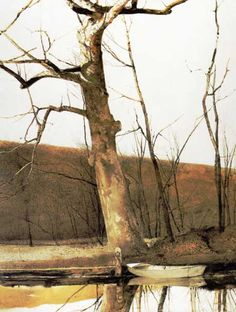 Cold Spring by Andrew Wyeth. Got a poster of this at an auction.