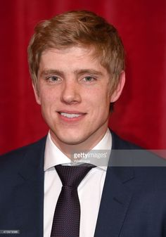 Ryan Hawley attends the British Soap Awards at Manchester Palace Theatre on May 2015 in Manchester, England. Manchester New, Manchester England, Emmerdale Actors, Danny Miller, Soap Awards, Robert Ryan, Most Beautiful Man, Hot Boys, Soaps