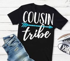 Excited to share the latest addition to my #etsy shop: cousin tribe svg, cousins svg, cousin shirt, grandma svg, shortsandlemons, reunion svg, family svg, new cousin, big cousin, popular