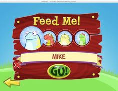 Feed Me! from PencilBot Preschool! A free educational app that helps kids learn letters, numbers, shapes, etc.