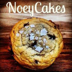 Salted chocolate chip cookie by NoeyCakes