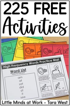 Looking for some kindergarten freebies to use in your classroom all year long?! This post offers 225 free printables and activities to use with preschool and kindergarten students! Click the pin to grab all the freebies you can imagine!