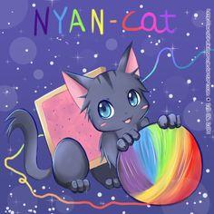 Nyan Cat by sunshineikimaru.deviantart.com on @deviantART