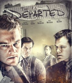 The Departed (2006) movie #poster, #tshirt, #mousepad, #movieposters2