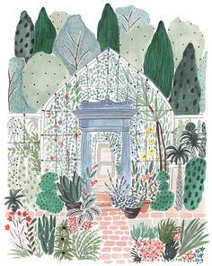 Victorian Greenhouse — BOCCACCINI MEADOWS