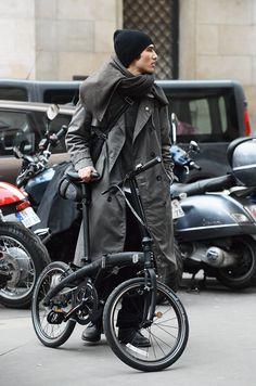 Boy + Bike.