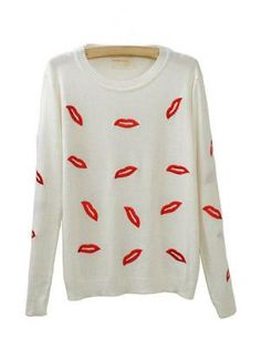 Red Lips Sweaters