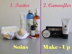 Soins et maquillage cicatrices acné